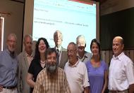 (LtoR) Hernádi Miklós, Karády Viktor, Kádár Elza, Nagy Péter Tibor, Czeizel Endre, Vekerdy Tamás, Mihályi Géza, Tóth Krisztina, Mózes Endre